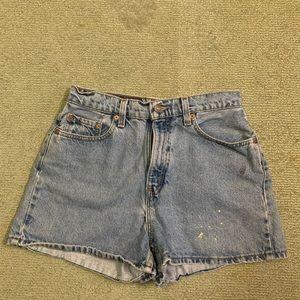 """""""VINTAGE"""" Levi's Denim Shorts 1980s-90s"""